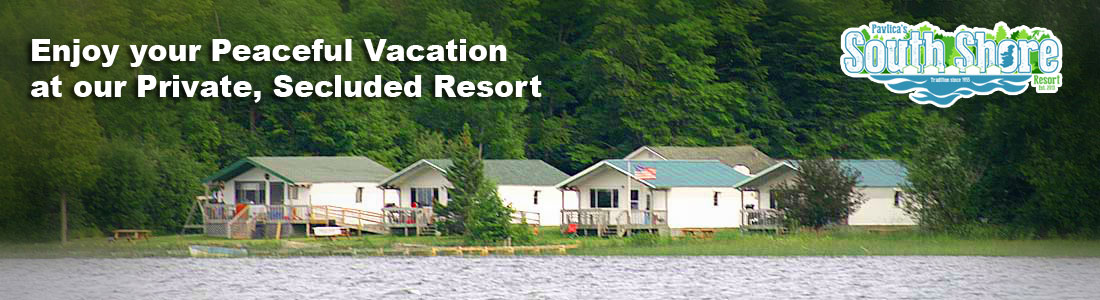 Curtis, Michigan Vacation Resort - South Manistique Lake - Upper Peninsula - Best Fishing