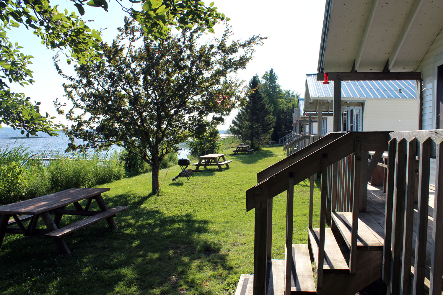 A view of the Lakefront from Cottage #1
